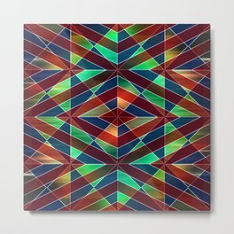 Geometric shapes 14 Metal Print