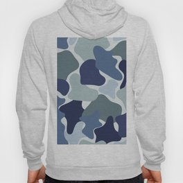 Abstract camouflage pattern Hoody