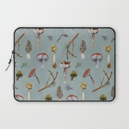 Mushroom Forest Party Laptop Sleeve