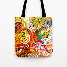 colored flow Tote Bag