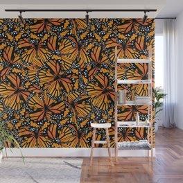 Monarch Butterflies Pattern | Butterfly Pattern | Wall Mural
