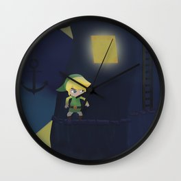 Forsaken Fortress Wall Clock