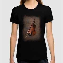 Painting Vintage Violin T-shirt