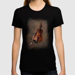 Painting Vintage Violin T-shirt