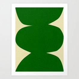 Abstract-w Art Print
