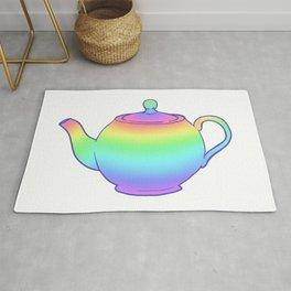 Rainbow Teapot Rug