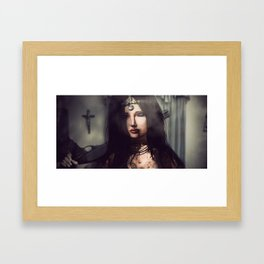Rebel Braveheart Framed Art Print