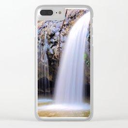 Lip Falls Clear iPhone Case