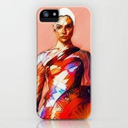 Wonder (JL) Woman / WonderWoman Illustration iPhone Case