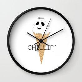IceCream Ghost Wall Clock