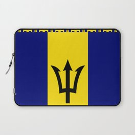 Barbados  combo flag Laptop Sleeve