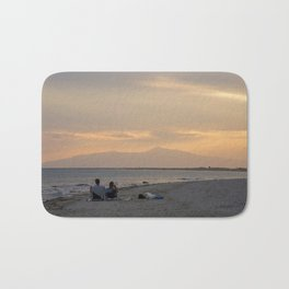 Sunset Over Mt. Olympus Bath Mat