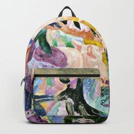 "Robert Delaunay ""Carousel of Pigs (Fr: Manege de cochons)"" Backpack"