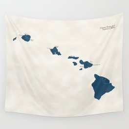 Hawaii Parks - v2 Wall Tapestry