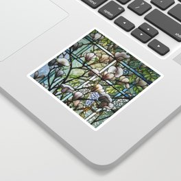 Louis Comfort Tiffany - Decorative stained glass 8. Sticker