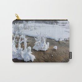 Winter in Yellowstone Carry-All Pouch