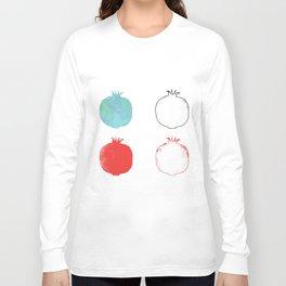 Pomegranate party Long Sleeve T-shirt
