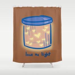 Love the Light Shower Curtain