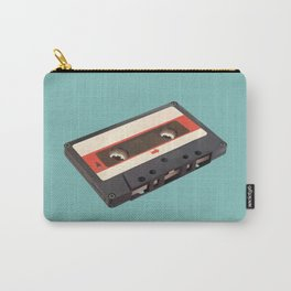 Cassette Tape Polygon Art Carry-All Pouch