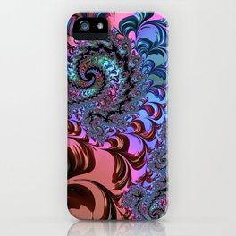 Metallic Fractal iPhone Case