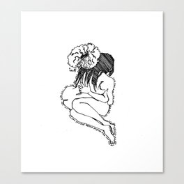 Love yourself IV Canvas Print