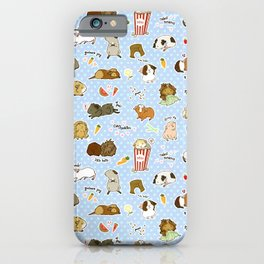 Guinea Pig Party! - Cavy Cuddles and Rodent Romance iPhone Case