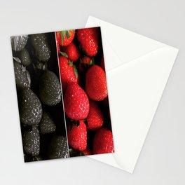 Strawberry mix Stationery Cards
