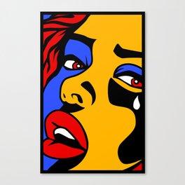 Crying Girl  Canvas Print