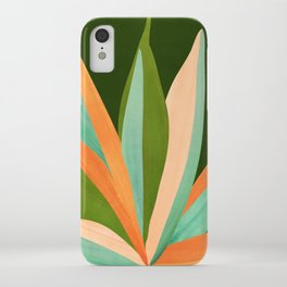 Colorful Agave / Painted Cactus Illustration iPhone Case