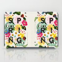 spring iPad Cases featuring SPRING by Dawn Gardner