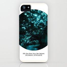 005: Glow Worm Cave, New Zealand iPhone Case