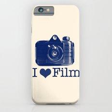 I ♥ Film (Blue/Peach) iPhone 6s Slim Case