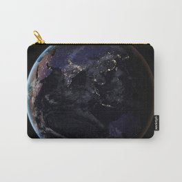 The Earth at Night 2 Carry-All Pouch
