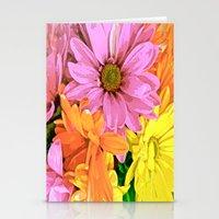 daisy Stationery Cards featuring Daisy by Saundra Myles