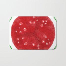 Watermelon Whorls Bath Mat