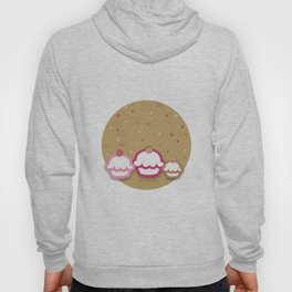 Cupcakes Chocolate Hoody
