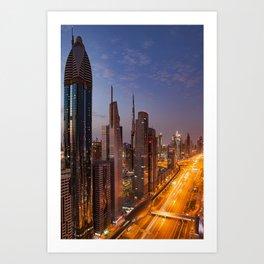 Dubai #society6 #decor #buyart Art Print