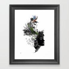 Seeded Framed Art Print