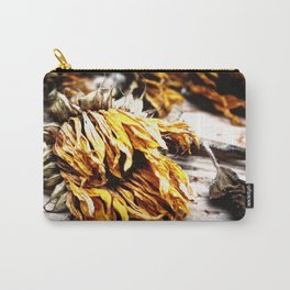 Faded Away Carry-All Pouch