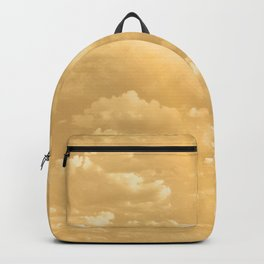 Clouds in a Golden Sky Backpack