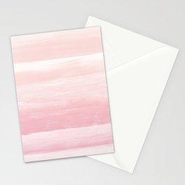 Blush Watercolor Abstract Minimalism #1 #minimal #painting #decor #art #society6 Stationery Cards