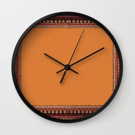 Persian Carpet Design Wall Clock