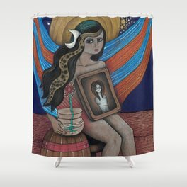 Lady Dream Shower Curtain