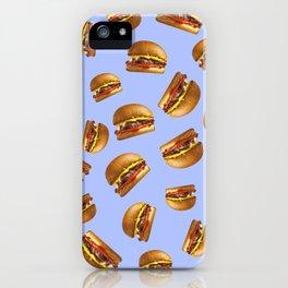 Just Hamburgers iPhone Case