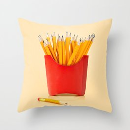 Creative Snack Throw Pillow