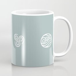 Bending All Four Elements – Water Coffee Mug
