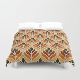 Retro Flower Pattern Duvet Cover