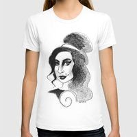 amy hamilton T-shirts featuring amy by chicco montanari