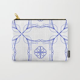 Azulejo Luso - Portuguese Tiles Carry-All Pouch
