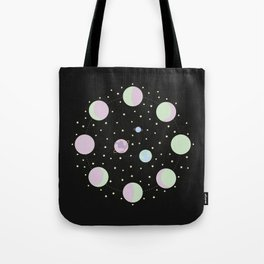 And You? - Moon Phases Illustration Tote Bag